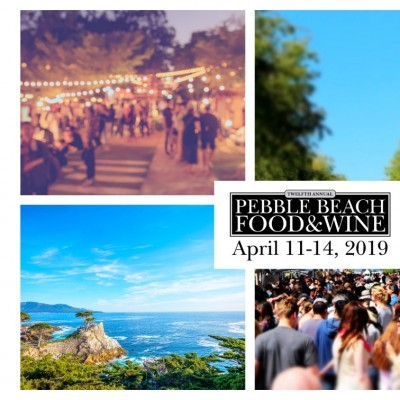 PEBBLE BEACH FOOD&WINE FESTIVAL - 11/14 APRIL 2019
