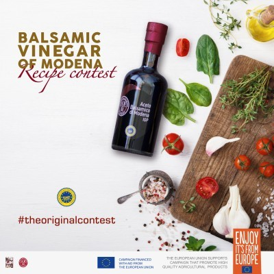 READY TO WIN WITH BALSAMIC VINEGAR OF MODENA? RECIPE CONTEST
